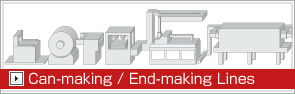 Can-making / End-making Lines